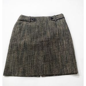 Banana Republic Factory Career A- line Skirt Size6